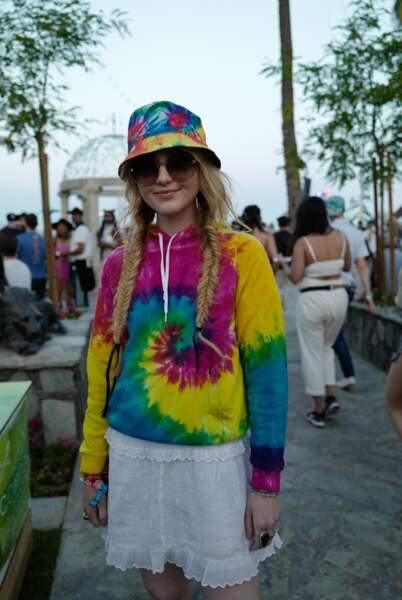 Les pires looks de la première semaine de Coachella : Kathryn Newton