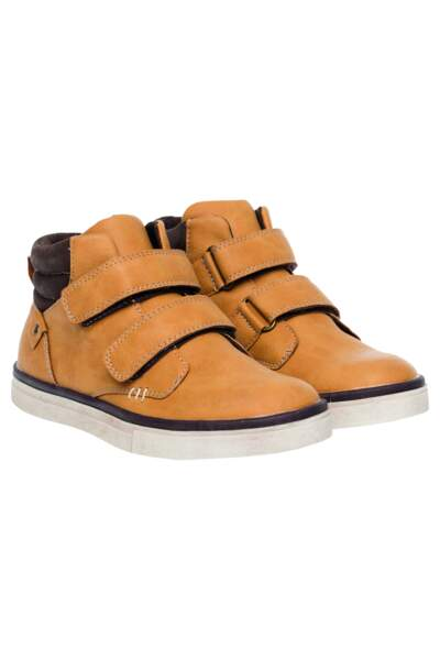 Chaussures. En simili cuir, 22,95€, Tissaia de E.Leclerc.