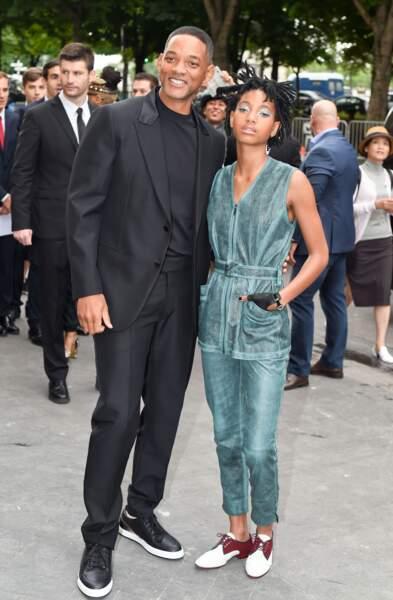 Défilé Chanel Haute Couture : Will et Willow Smith