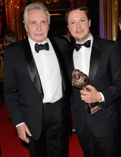 Le fils de Michel a été récompensé du Molière de meilleur comédien dans un second rôle pour L'affrontement