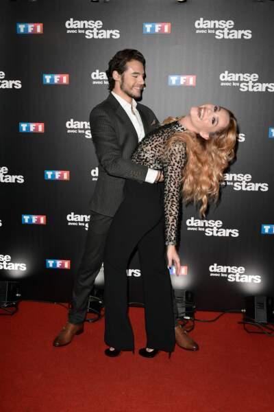 Danse avec les stars 8 - le courant à l'air de passer entre la comédienne et son danseur