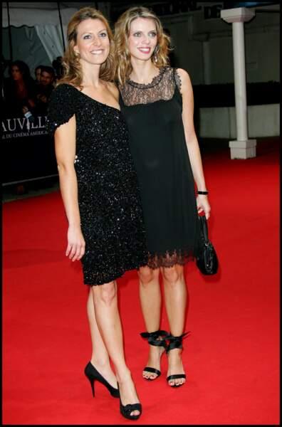Sylvie Tellier et sa soeur Anne-Sophie