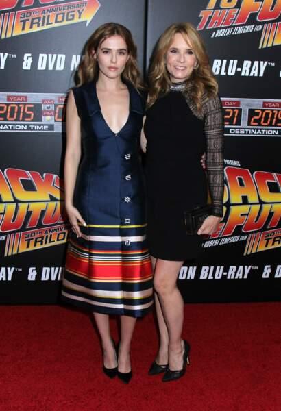 Lea Thompson et sa fille Zoe Deutch
