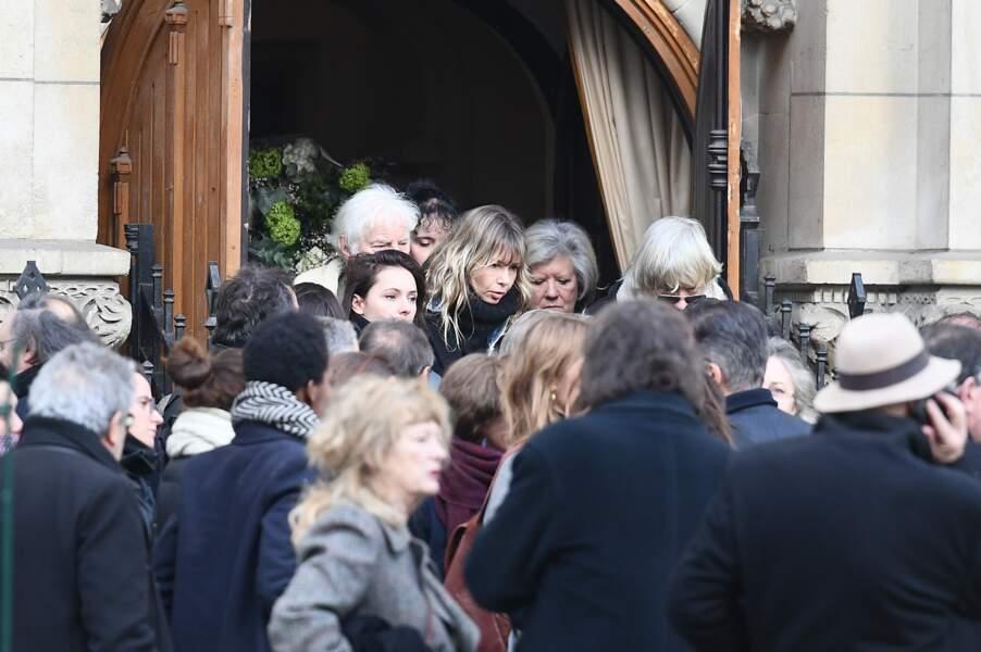 Obsèques de Thierry Sechan, au temple protestant Port Royal