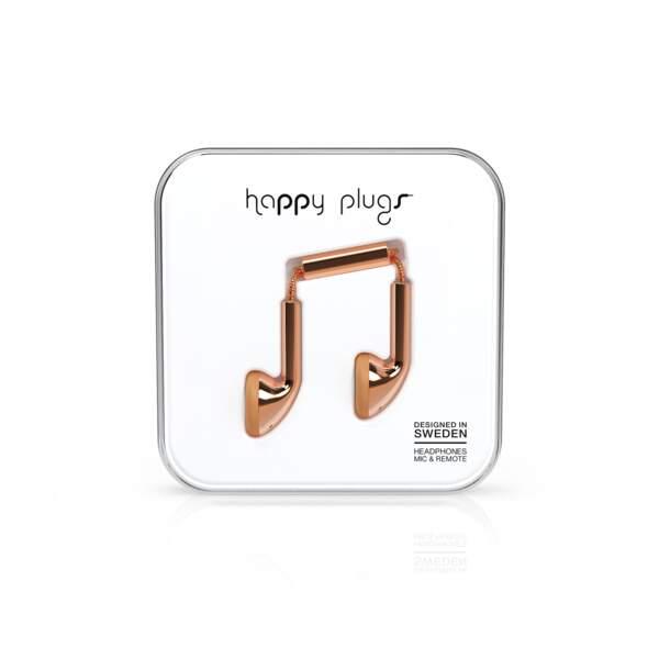 Ecouteurs Happy Plug - 29,99 €