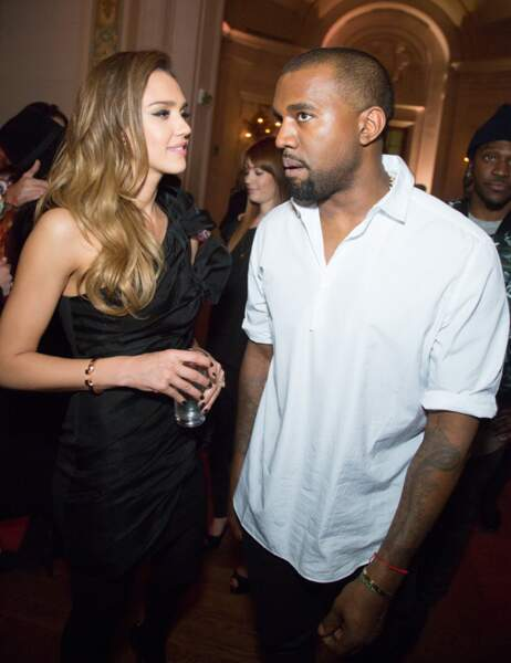 Jessica Alba et Kanye West
