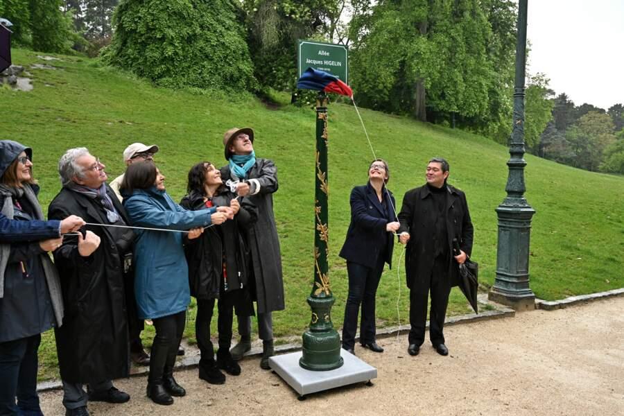 La cérémonie s'est déroulée le samedi 11 mai, dans le quatorzième arrondissement de la capitale
