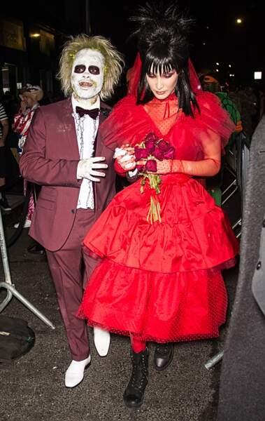 Vous avez reconnu Bella Hadid ? Vous savez donc qu'à côté d'elle, c'est le rappeur The Weeknd
