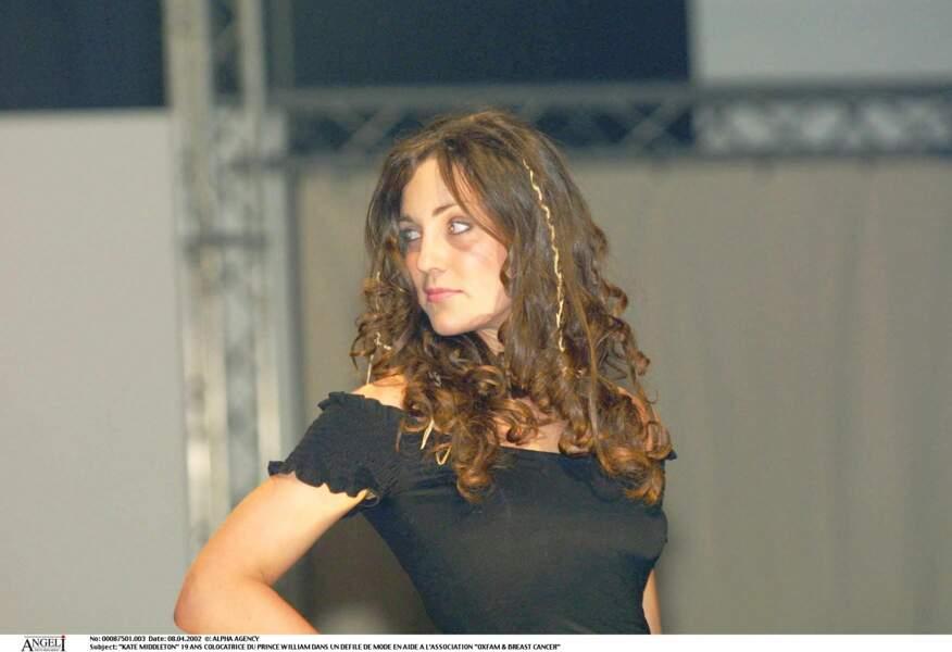 Kate Middleton en 2002