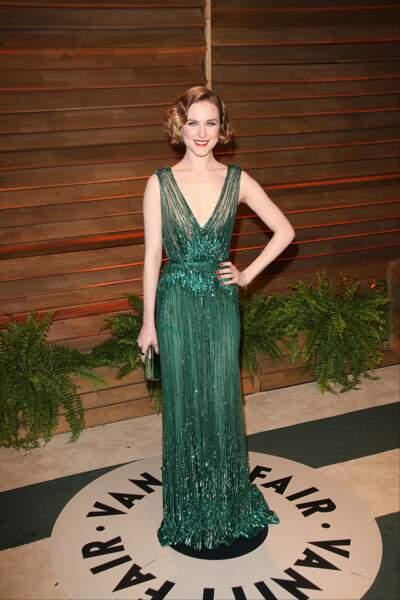 Evan Rachel Wood hyper élégante en robe de soirée