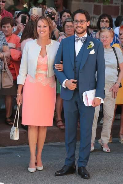 Thomas Hollande avec sa mère, Ségolène Royal