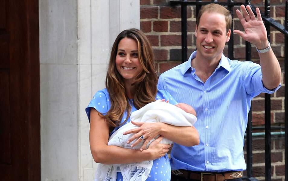 Le 22 juillet dernier, le prince George voyait le jour