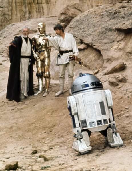 """Le robot R2-D2 dans """"Star Wars"""" est..."""