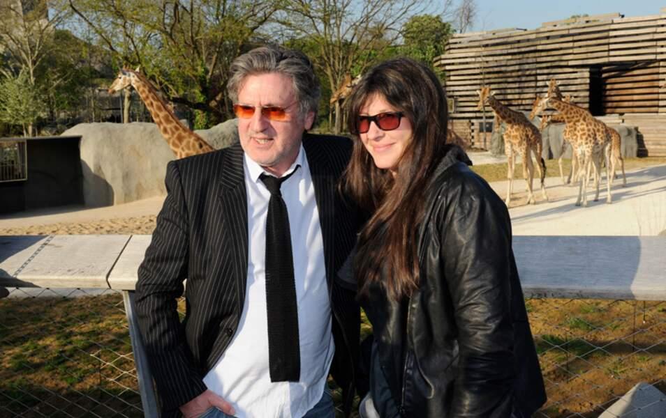 Daniel Auteuil et sa femme Aude