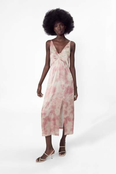Robe tie-dye, Zara, 39,95€