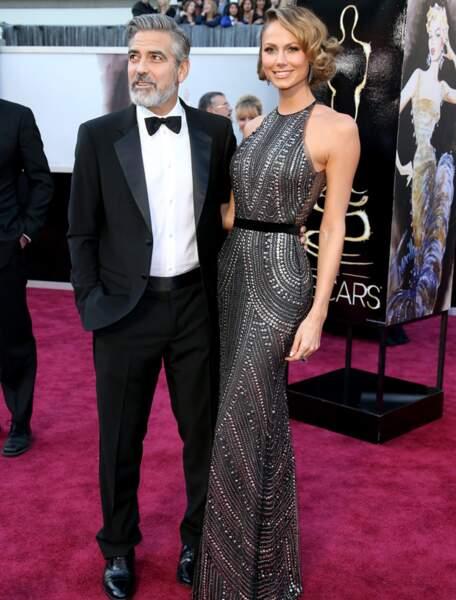 George Clooney et Stacy-Keibler