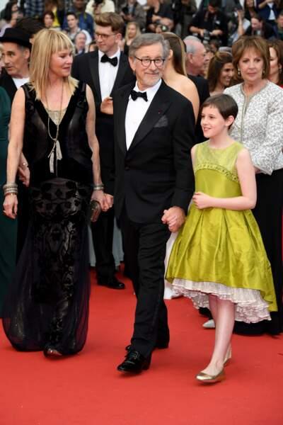 Steven Spielberg, Ruby Barnhill et Penelope Wilton