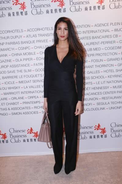Chloé Mortaud au Pavillon Gabriel à Paris le 8 mars 2019