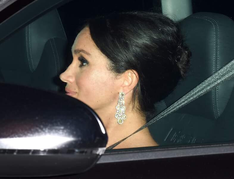 Meghan Markle à l'anniversaire du prince Charles