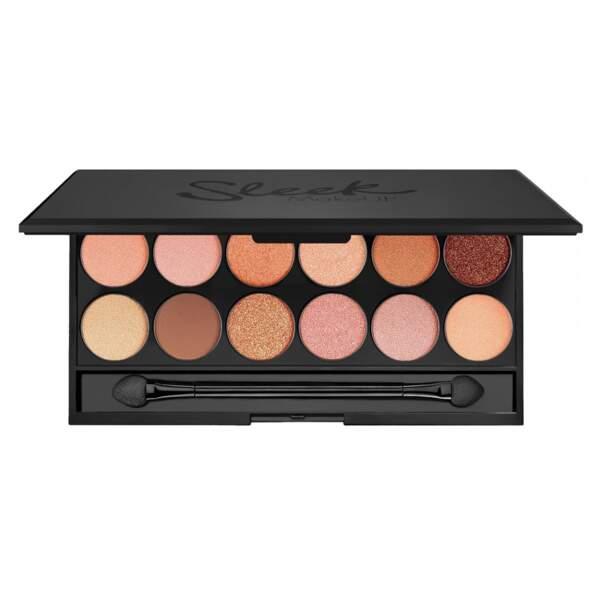 Notre sélection de palettes à petit prix : Sleek, Peach Perfect, 12,50 euros