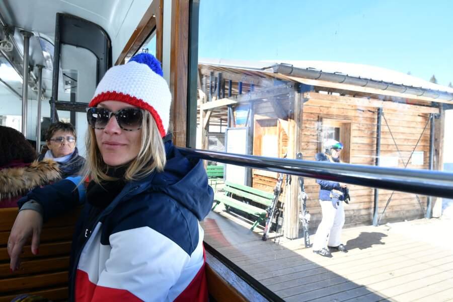 Caroline Faindt au 35ème festival Mont-Blanc Humour