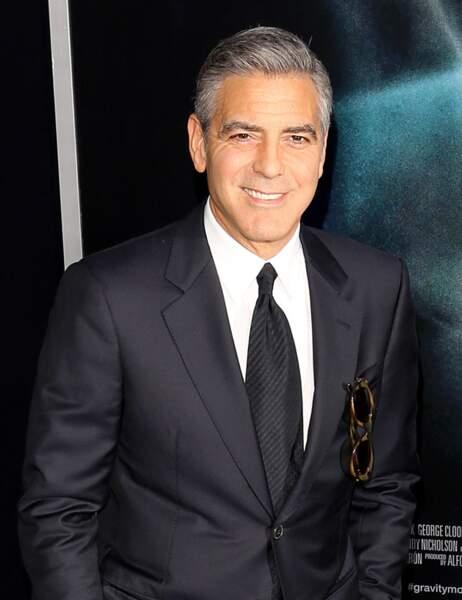 George Clooney aujourd'hui...