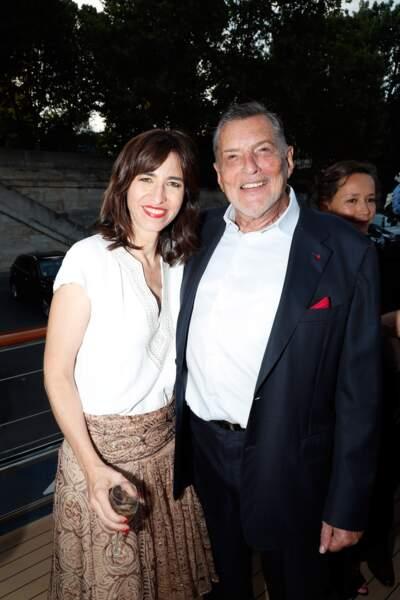 Jean-Claude Camus, grand ami de Johnny Hallyday, ne pouvait pas rater l'anniversaire de Line Renaud
