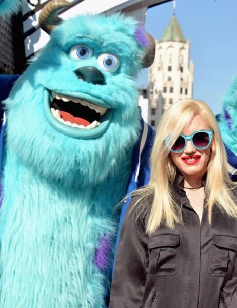 Gwen Stefani tape la pose avec Sulli