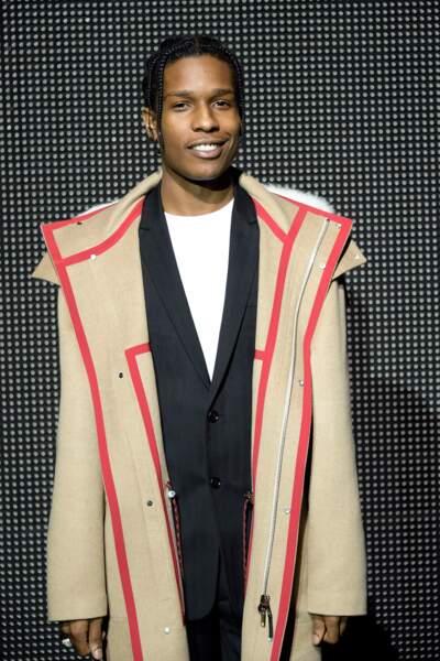 Le rappeur A$AP Rocky