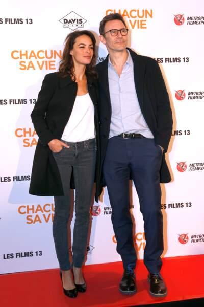Avant-première du film Chacun sa vie : Bérénice Bejo et Michel Hazanavicius