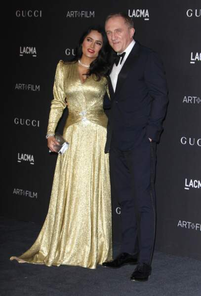 Salma Hayek et son mari, François-Henri Pinault