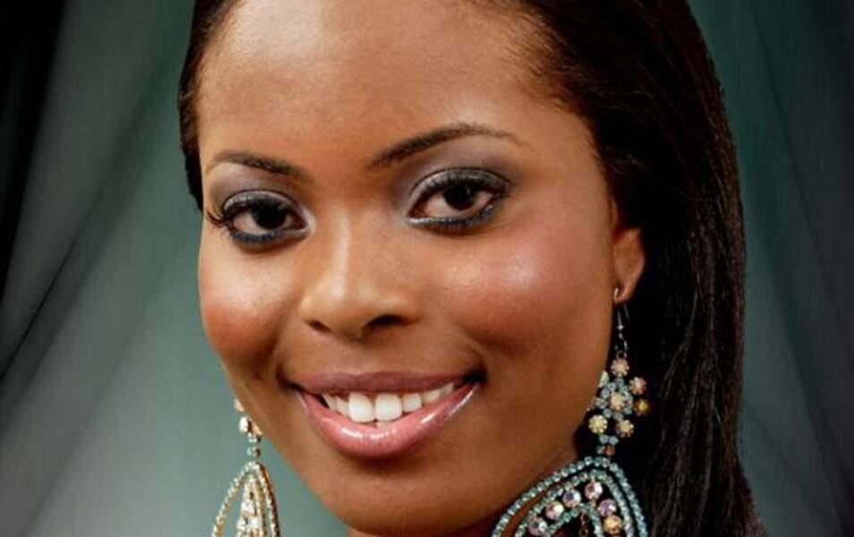 Miss Saint-Christophe-et-Niévès Trevicia Adams, 22 ans, 1m70