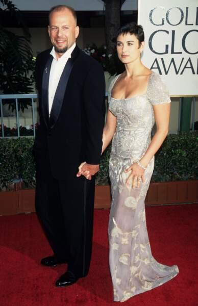 Bruce Willis et Demi Moore en couple de 1987 à 2000