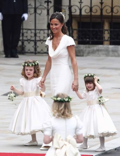 La soeur de la mariée, Pipa Middleton et sa fameuse robe