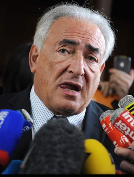 Idem pour Dominique Strauss-Kahn, tout blanc...