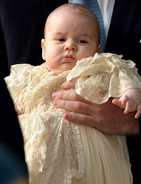 Le petit prince est tranquille et a même été très sage toute la journée