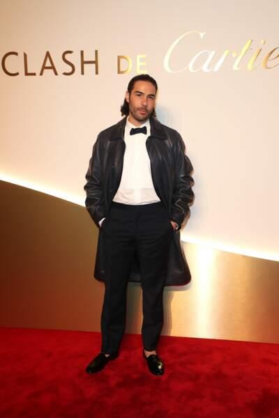 Tahar Rahim au dîner Cartier, le 10 avril 2019 à la Conciergerie de Paris