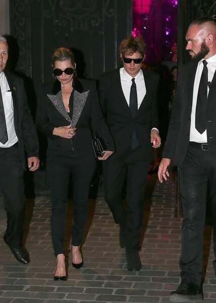 Dîner de la Fondation Vogue - Kate Moss et Nikolai Von Bismarck