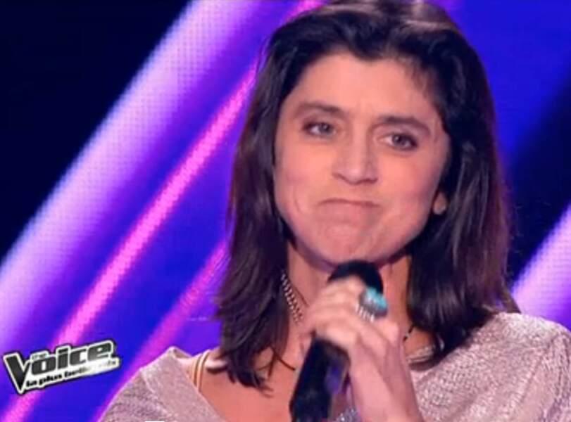 Claire participant à The Voice en 2012