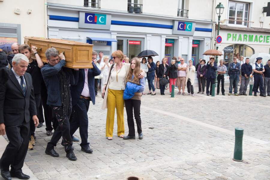 Les obsèques de Claude Rich