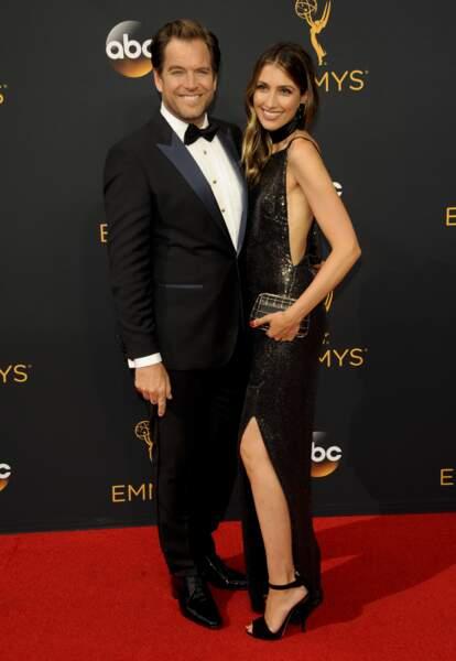 Emmy Awards 2016 : Michael Weatherly (NCIS) et sa femme Bojana Jankovic