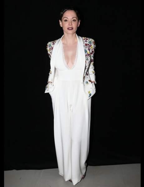 L'actrice Rose McGowan...