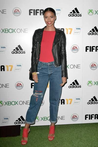 Soirée de lancement FIFA 2017 : Flora Coquerel