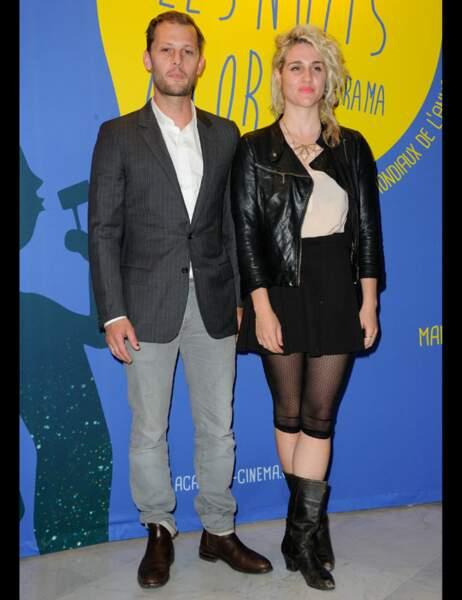 L'acteur Nicolas Duvauchelle et une amie, la comédienne grecque Konstantina Kotzamani