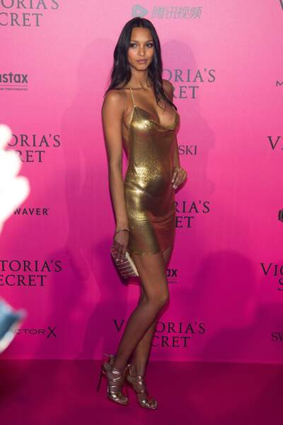 Défilé Victoria's Secret : Lais Ribeiro en Balmain