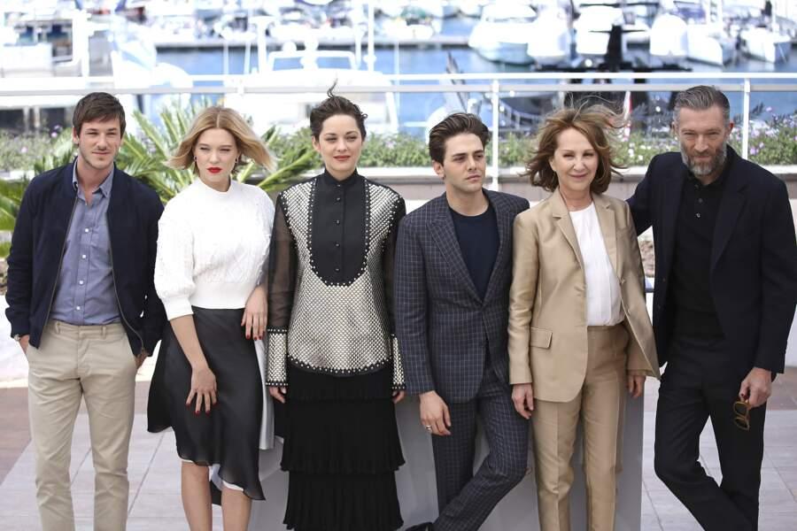 Cannes 2016 : Gaspard Ulliel, Léa Seydoux, Marion Cotillard, Xavier Dolan, Nathalie Baye, Vincent Cassel