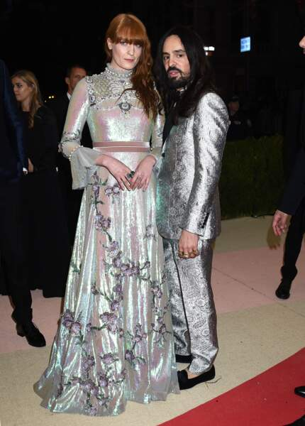 Florence Welch en Gucci