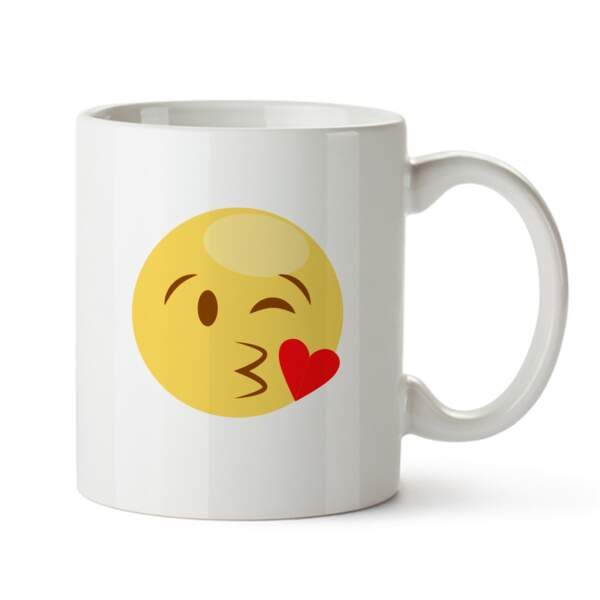 Mug en cramique Emoji, 9,95€, www.monsterzeug.de