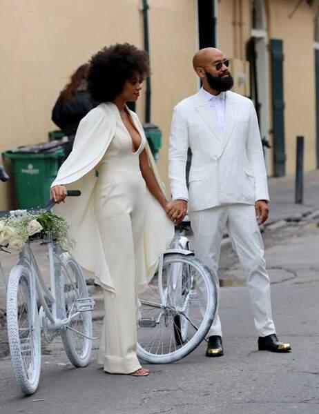 Solange et son mari Alan Ferguson