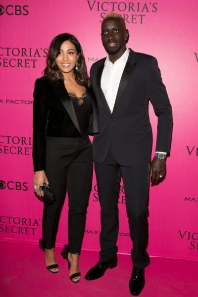 Défilé Victoria's Secret : le footballeur Mamadou Sakho et sa femme Majda